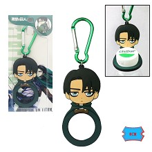 Attack on Titan Levi bottle opener key chain