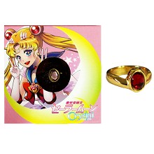 Sailor Moon ring(red)