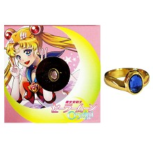 Sailor Moon ring(blue)