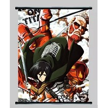 Attack on Titan wall scroll BH2189