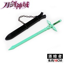 Sword Art Online weapon key chains