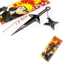 Naruto weapon key chain