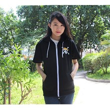 One Piece cotton hoodie