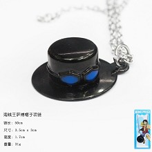 One Piece Sabo hat necklace