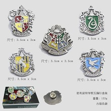 Harry Potter brooches/pins a set