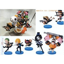 One Piece figures set