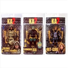 7inches NECA Kick-Ass 2 figures a set