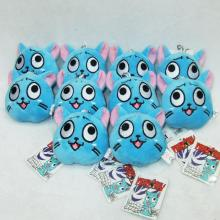 3inches Fairy Tail plush dolls(10pcs)