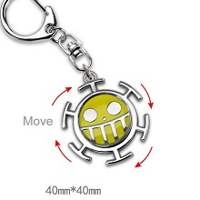 One Piece Law key chain