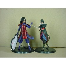Naruto anime figures set madara&sasuke(2pcs a set)