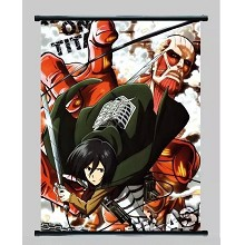 Attack on Titan anime wallscroll 2189