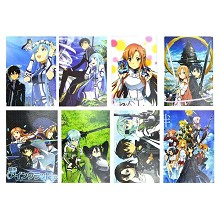 Sword Art Online anime posters(8pcs a set)
