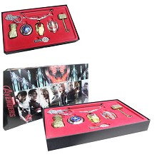 The Avengers cos weapons set(7pcs a set)