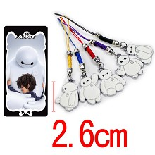 Big hero 6 phone straps a set