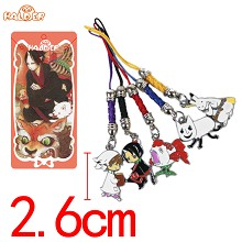 Hoozuki no Reitetsu phone straps a set