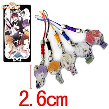 DIABOLIK LOVERS phone straps a set
