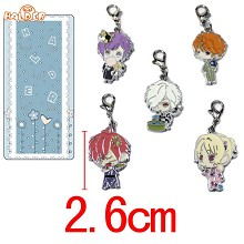 DIABOLIK LOVERS key chains a set
