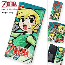 The Legend of Zelda pu long wallet
