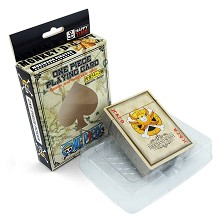 One Piece poker/playing card
