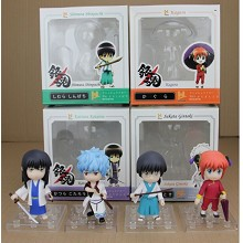Gintama figures set(4pcs a set)