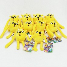 4inches Adventure Time plush dolls set(10pcs)