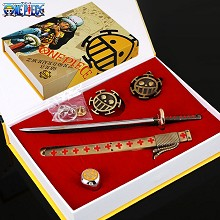 One Piece cos accessories a set