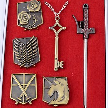 Attack on Titan cos accessories a set