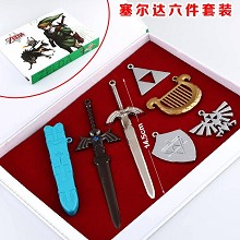 The Legend of Zelda accessories a set