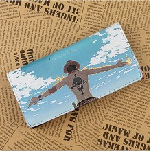 One Piece pu long wallet