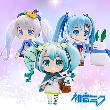 Hatsume Miku anime figures set(3pcs a set)