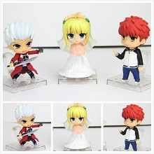Fate Stay night figures set(3pcs a set)