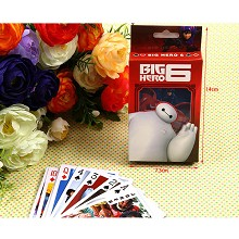 Big hero 6 poker playing card