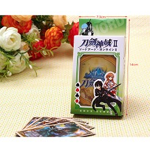 Sword Art Online poker playing card