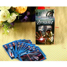 Iron Man poker playing card