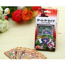 Date A Live poker playing card