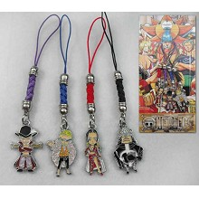 One Piece phone straps a set