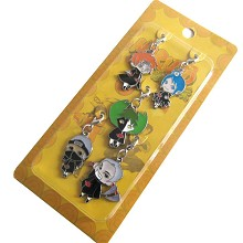 Naruto key chains a set