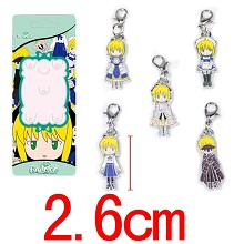 Fate Stay Night key chains a set