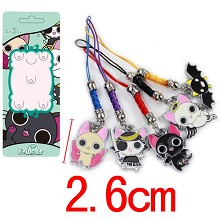 Nyanpaia phone straps a set