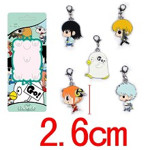 Gintama key chains a set