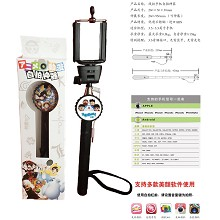 Doraemon Wired Selfie Stick Handheld Monopod Exten...