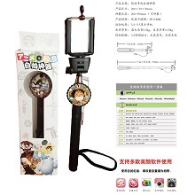 One Piece Wired Selfie Stick Handheld Monopod Exte...
