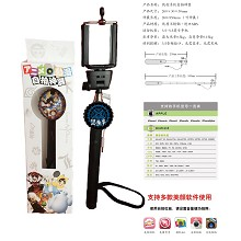 Kuroshitsuji Wired Selfie Stick Handheld Monopod Extendable For Phone