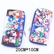 Sailor Moon anime pu long wallet/purse