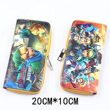 The Legend of Zelda anime pu long wallet/purse