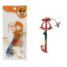 Kingdom of Hearts anime key chain
