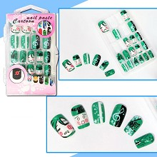 Hatsume Miku anime nail paste sticker