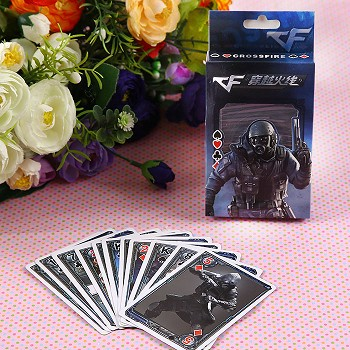 Cross Fire poker playing card