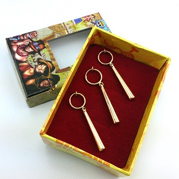 One Piece Zoro anime cos earrings a set