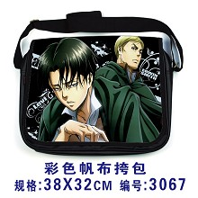 Attack on Titan Date A Live anime satchel shoulder bag